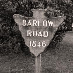 Barlow Trail Marker