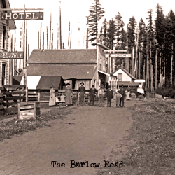 The Barlow Road As It Moves Through Sandy, Oregon