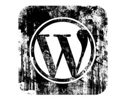 WordPress Grunge Logo